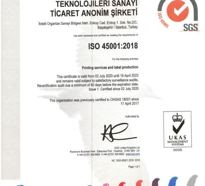 ŞOTEKS ISO 9001 2015 UKAS ISO 14001 2015 UKAS ISO 45001 UKAS (1)-3